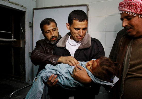 Israeli Air Strike Kills Palestinian Girl In Gaza